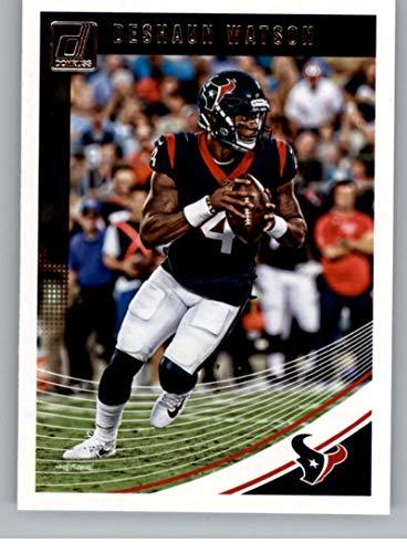 2018 Donruss Football #114 Deshaun Watson Houston Texans Official NFL Trading Card - Nfl Bowman Chrome Trading Cards