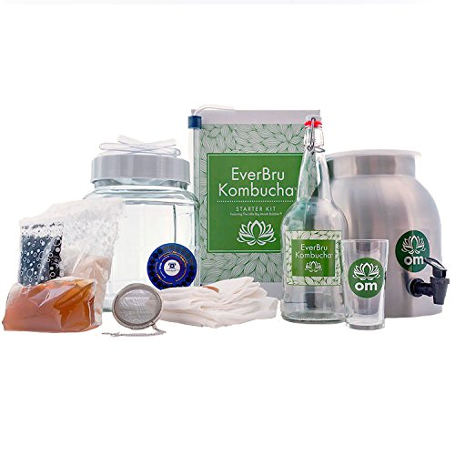 EverBru Kombucha Deluxe Starter Kit by Northern Brewer