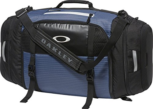 Oakley Mens Link Duffel Bag One Size Blue Indigo