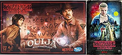 Stranger Things Ouija Game Exclusive VHS Set Season 1 DVD Blu-Ray 4 Disc Box Edition Special 2-pack Bundle