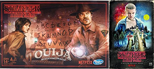 Stranger Things Ouija Game Exclusive VHS Set Season 1 DVD Blu-Ray 4 Disc Box Edition Special 2-pack Bundle