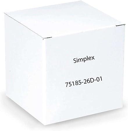 Satin Chrome 2-3//8 BS 7108-26D Simplex Tubular Deadbolt