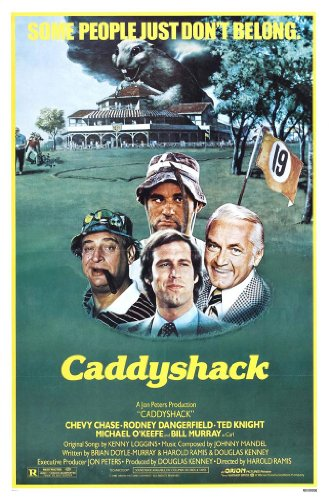 Caddyshack Poster Movie Inches Doyle Murray