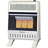 ProCom MNSD3TPA-BB Dual Natural/Propane Gas Vent-Free Heater, 18,000 BTU, Base and Blower Included