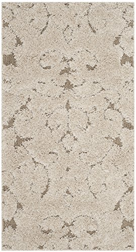 Safavieh Florida Shag Collection SG470-1113 Cream and Beige Area Rug (2'3″ x 4′) Review