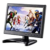 Kalesmart 10.1 inch Small Laptop Computer Monitor HD 1024x600 with HDMI VGA Port, Raspberry pi Display Screen Monitor, Video HDMI Monitor - Build with Speakers, Remote