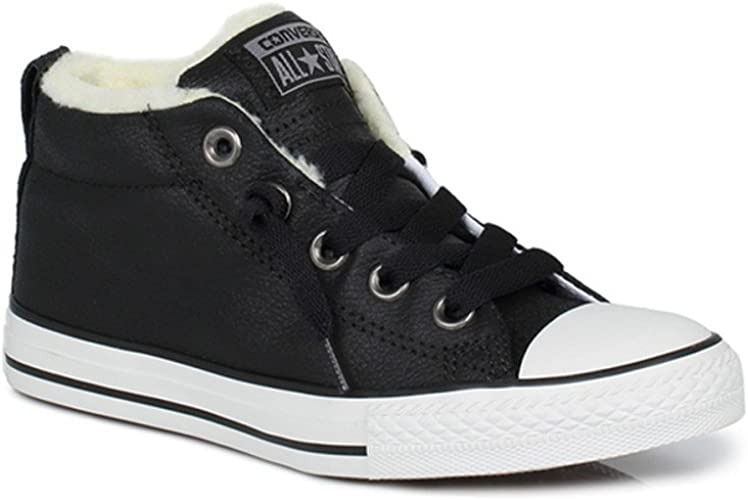 Leather Trainers Warm Lining