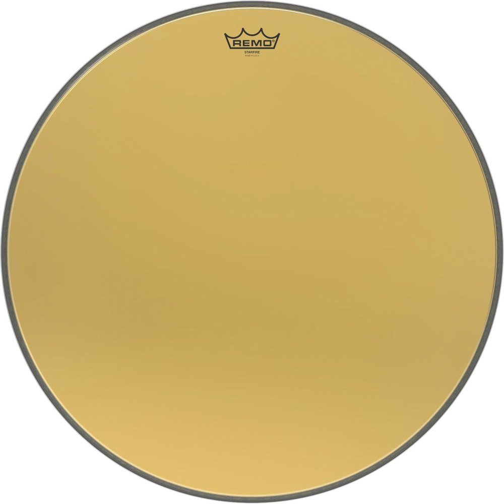 Remo GD102200 22-Inch Gold Starfire Resonant Bass Drum Head