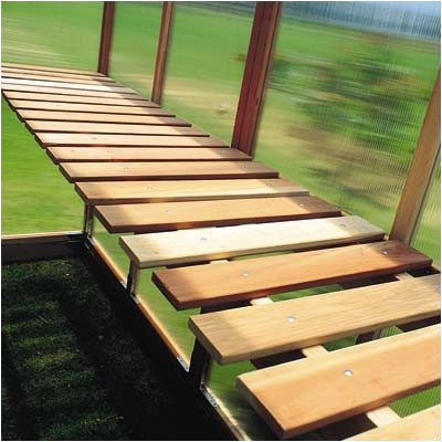 Sunshine GardenHouse Bench Kit – For Item# 24875 12ft. x 6ft. Mt. Hood GardenHouse Greenhouse, Model# GKP612-BENCH