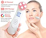 Facial Beauty Machine,Beyoung 5 in 1 Beauty Skin Care Face Massager Machine with EP,MP,LED,EMS,RF...