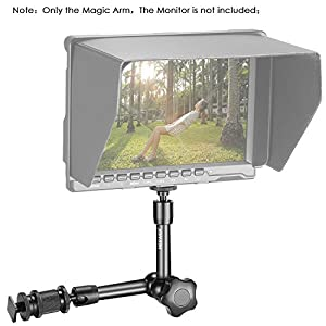 Neewer 7 Inch Adjustable Friction Power Articulating Magic Arm for DSLR Camera Rig / LCD Monitor / DV Monitor / LED Lights / flash light