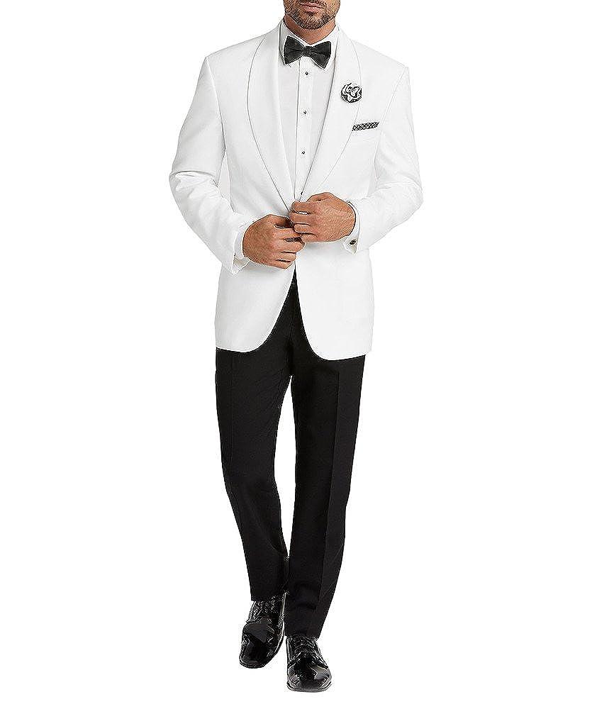 Suit Me Uomo Abiti 2 pezzo scialle bavero Fomale partito Matrimoni Tuxedo giacche pantaloni AN69