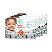Honest Baby Diapers, Space Travel, Size 3, 136 Count