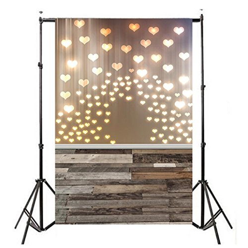 YJYdada Lover Dreamlike Glitter Haloes Photography Background Studio Props Backdrop(90cmX150cm) (B)