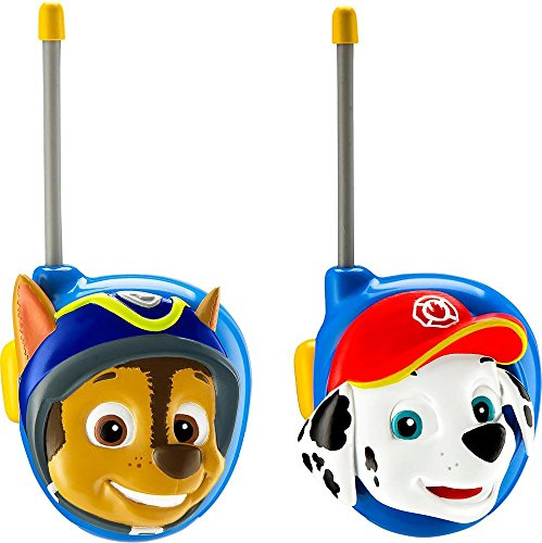 eKids Paw Patrol Chase and Marshall Character 2-Way Radios (Walkie Talkies) -  Spin Master, PW-202CM.EXv7