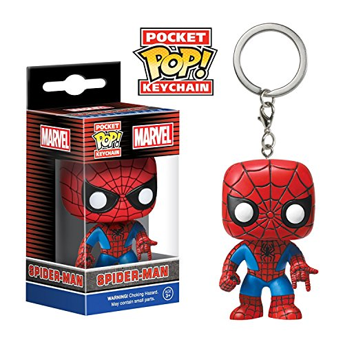 Funko Pop! Vinyl Key Chain Figure (Spiderman)