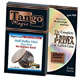Flipper Coin Pro Elastic Half Dollar 1964 wDVD D0138 by Tango