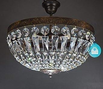 Lámpara de techo de Vienna antiguo de 3 luces ø40cm hecha de ...