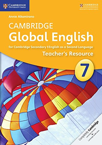 Cambridge Global English Stage 7 Teacher's Resource CD-ROM (Cambridge International Examinations) by Cambridge University Press