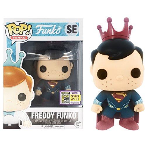Funko SDCC 2017 POP Fundays Freddy Man Of Steel Superman LE 525 Pieces
