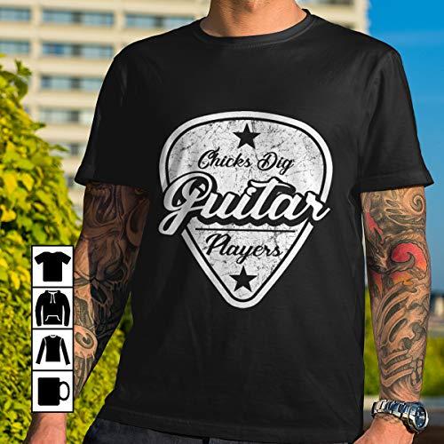 Guitar guitar players chicks dig T Shirt Long Sleeve Sweatshirt Hoodie Youth