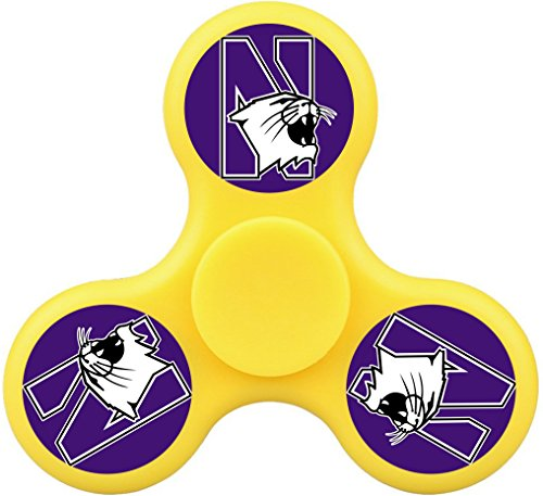 THinL Northwest Fidget Spinner University Finger Toy High Speed Durable Bearing Hand Spinner EDC Spinning Top ADHD Focus Anxiety Stress Relief Killing Time Toys