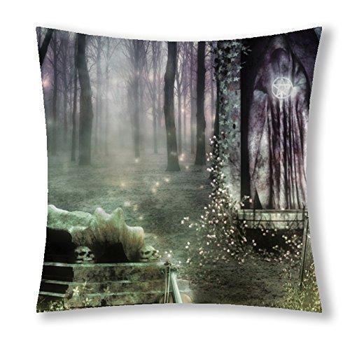 Little Sun 98 Gothic Modern skull Art 5 Decorative Throw Pillow Cover 18