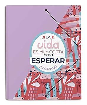 Grupo Erik Editores Amelie - Carpeta de gomas, 34.5 x 9 cm, A4