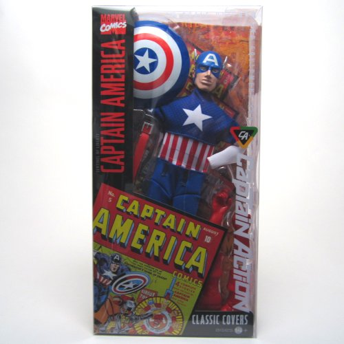 Captain Action Costume (Captain America Classic Covers 1/6 Scale Uniform and Equipment Captain Action Costume Set)