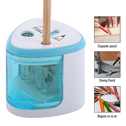 Electric Automatic Pencil Sharpener Cutter for Kids Office P