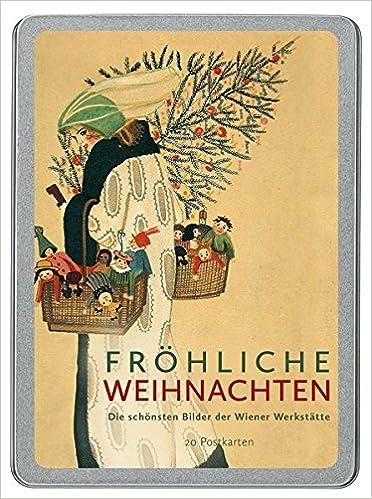 Vintage Bilder Weihnachten.Fröhliche Weihnachten Die Schönsten Bilder Der Wiener Werkstätte