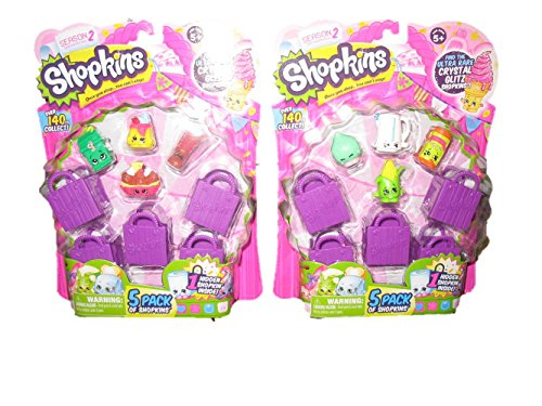 Shopkins S2 5 Pack Playset X 2