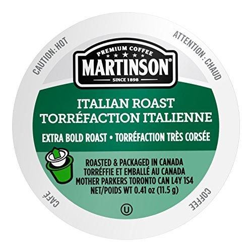 Martinson Single Serve Coffee Capsules, Italian Roast, 24 Count
