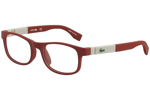 ea15c31e53dc1 Óculos Lacoste L3627 615 Vermelho Fosco Lente Tam 50  Amazon.com.br ...