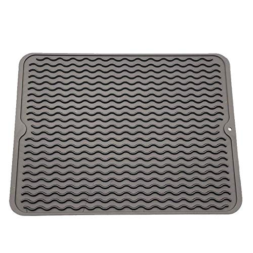 Silicone Dish Drying Mat, 16'' x 12