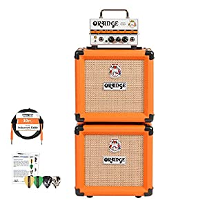 orange micro terror mt20 and 2 ppc108 cabinets stack kit musical instruments. Black Bedroom Furniture Sets. Home Design Ideas