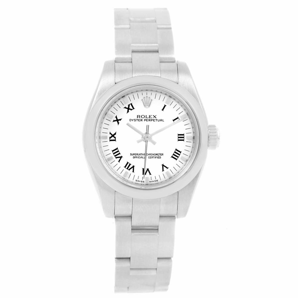 20a6e66b8d3 Amazon.com: Rolex Oyster Perpetual Automatic-self-Wind Female Watch 176200  (Certified Pre-Owned): Rolex: Watches