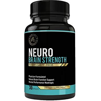 Amazon Com Ipro Organic Supplements 30 Capsules Neuro Brain Booster