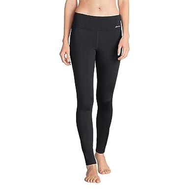 31e3bb96f0d43 Eddie Bauer Women's Crossover Fleece Leggings - Solid, Carbon Regular XXL  at Amazon Women's Clothing store: