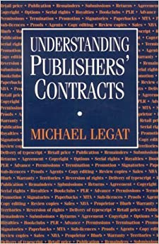 Book Understanding Publishers' Contracts by Michael Legat (2002-08-30)