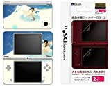 Nintendo DSi XL Decal Skin Sticker + Screen Protector Bundle Deal - Lettre d'amour by DecalSkin