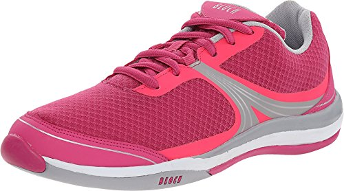 Bloch-Womens-Element-Dance-Sneakers-Pink-Mesh-85-M