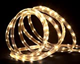 150' Commericial Grade Warm White LED Indoor/Outdoor Christmas Rope Lights on a Spool by Northlight
