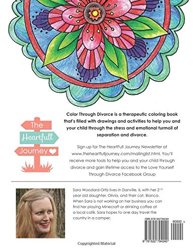 Color Through Divorce: A therapeutic activity book to help mom and ...