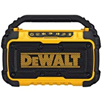 DEWALT DCR010 20V Max Bluetooth Jobsite Speaker (Tool Only),Yellow/Black