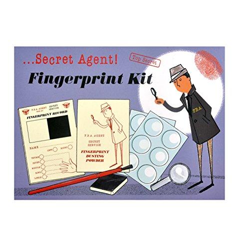 Rex Secret Agent Spy Kit - Choice of Gear (Fingerprint Kit)