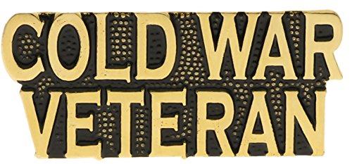 Cold War Veteran Scripted Tab Hat or Lapel Pin Hon14241