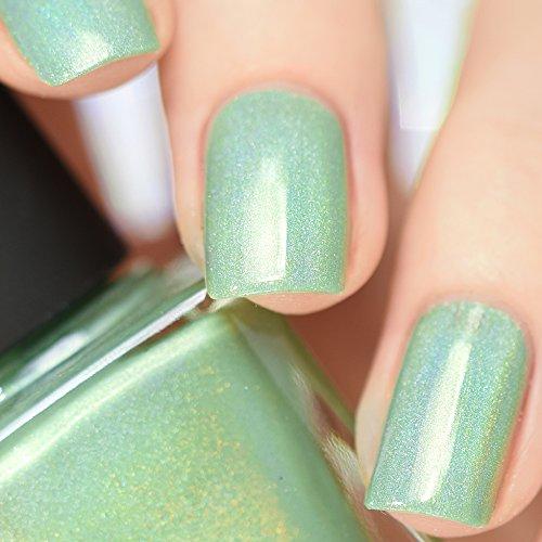 Amazon.com : ILNP Princeton - Refined Mint Green Holographic Nail ...