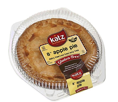 Katz Gluten Free Family Size Apple Pie, 24 Ounce, Certified Gluten Free - Kosher - Dairy, Nut & Soy free - (Pack of 6)