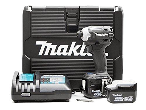 마키타(Makita)(Makita) 충전식 임팩트 드라이버(검정) 14.4V 6Ah 밧데리2개・충전기・케이스 첨부 TD161DRGXB